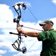 Portrait of a professional archer — Stock Photo #10756926