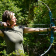 Bow hunter — Stock Photo #10757206