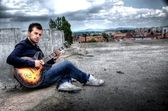Guitarrista — Fotografia Stock