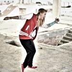 Modern style dancer  — Stock Photo #11965126