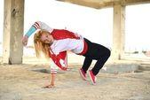 Modern stil dansçı — Stok fotoğraf