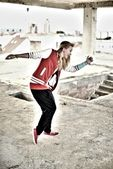 Bailarina de estilo moderno — Foto de Stock