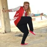 Street dancer — Stock Photo #11973525