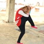 Street dancer — Stock Photo #11973532