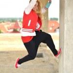 Street dancer — Stock Photo #11974088