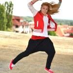 Street dancer — Stock Photo #11974100