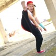 street dancer — Stock Photo
