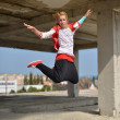 Street dancer - Stock Photo