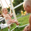 Royalty-Free Stock Photo: Baby swing
