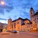 via Vienna di notte — Foto Stock #10795889