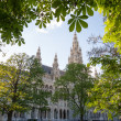 Green Vienna - Rathaus — Stock Photo