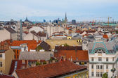 Panorama of the Vienna, Austria. — Stock Photo