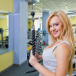 Womin gym — Stock Photo #11091060