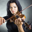 Stock Photo: Musiciplaying violin