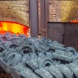 Furnace at the plant — Stock Photo