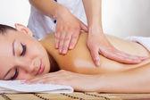 Woman in the spa salon — Stock Photo