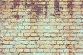 старая кирпичная стена — Стоковое фото
