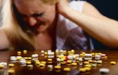 Colored pills — Stock Photo