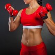 Athletic woman — Stock Photo