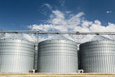 Huge silos — Stock Photo