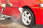 Mycie samochodu — Zdjęcie stockowe