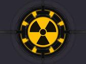 Radioactieve apparaat — Stockfoto