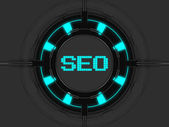 SEO icon — Foto de Stock
