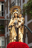 Virgen del Carmen — Stock Photo