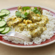 English style beef korma - Stock Photo