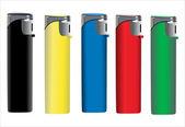 Lighters — Stock Vector