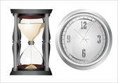Clock set. — Stock Vector