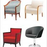 Chair Set — Stock Vector
