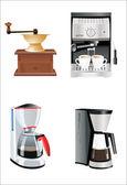 Coffee preparation — Stock Vector