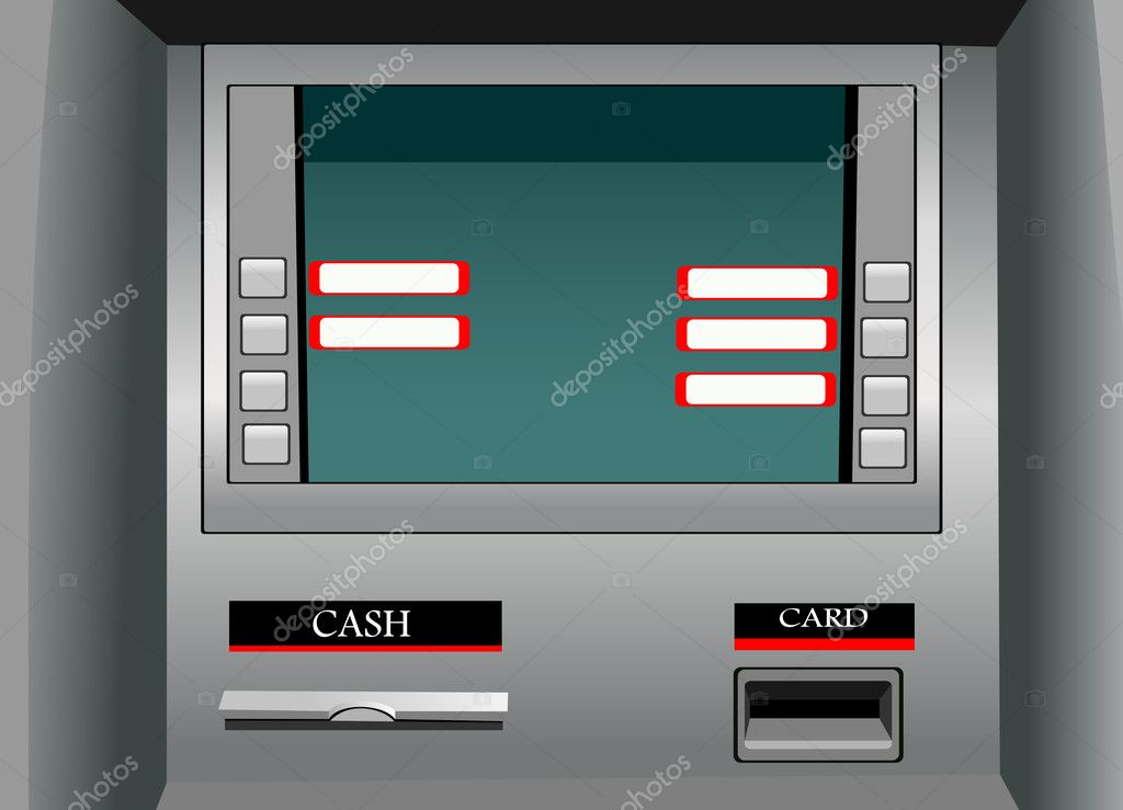 ATM vector  Stock Vector #11924766