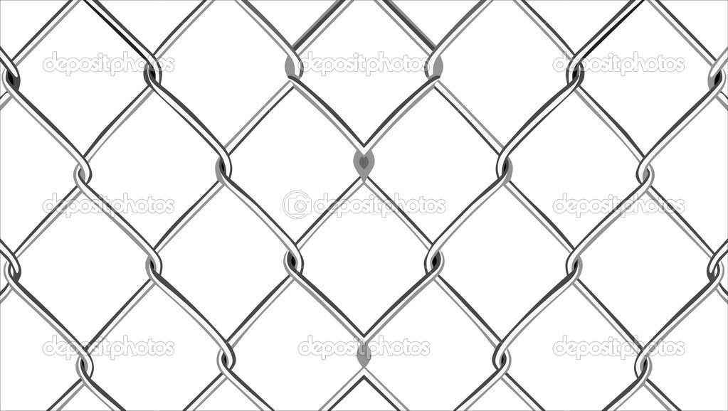 Mesh Fencing Vector Wire Mesh Fence — Vector by