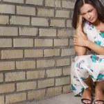 Unhappy depressed woman — Stock Photo #11909509