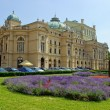 The Slowacki theater, Krakow — Foto de Stock