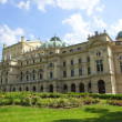 The Slowacki theater, Krakow - Stock Photo