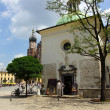The Main Market Square in Cracow, Old Town, Poland — Stock Photo #11518122