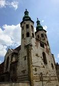 Kostel svatého Ondřeje v Krakově — Stock fotografie