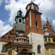 Stock Photo: Wawel Cathedral,Cathedral Basilicof Sts. Stanislaw and Vaclav on Wawel Hill in Cracow