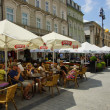 The Main Market Square in Cracow, Old Town, Poland — Stock Photo