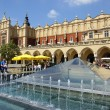 Old cloth hall, Sukiennice on the Krakow main square, Poland — Stock Photo