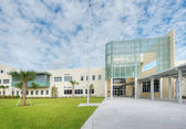 Middle School in Florida — Stock Photo