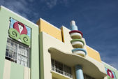 Architecture in South Beach — Stock Photo