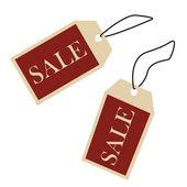 Försäljning prislappar — Stockfoto