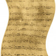 Stock Photo: Abstract old sheet music