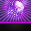Disco ball with lights — Stock Photo #12109222