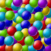 Colorful balls — 图库照片