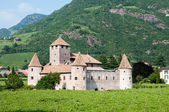 Castel Mareccio Bolzano — Stock Photo